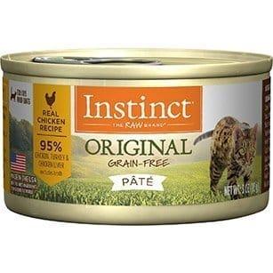 Instinct Original Grain Free Recipe Natural Wet Canned Cat Food