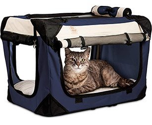 PetLuv - Happy Cat Premium Cat Carrier
